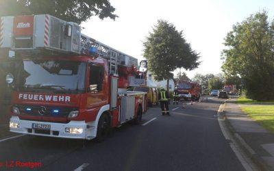 Einsatz 23/2016, Feuer, Zimmerbrand, Roetgen, Hauptstraße