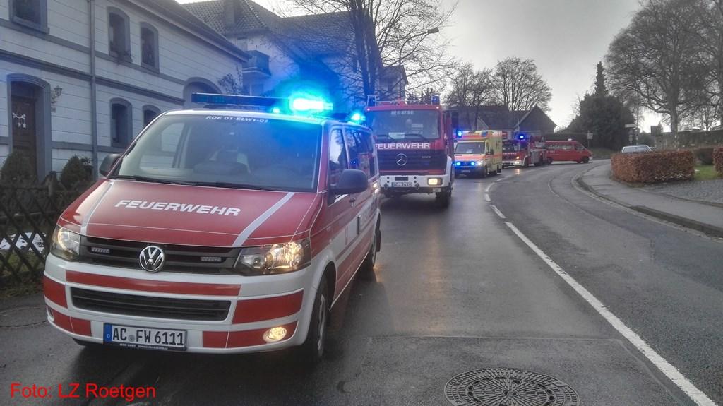 Einsatz 2/2017, Feuer, Zimmerbrand, Roetgen, Hauptstraße