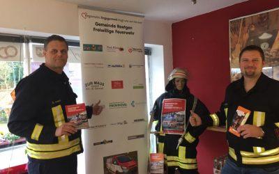 Werbeaktion für die Feuerwehr und den Förderverein im Nahkauf Rott