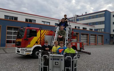 Jugendfeuerwehr in Neumark zu Gast
