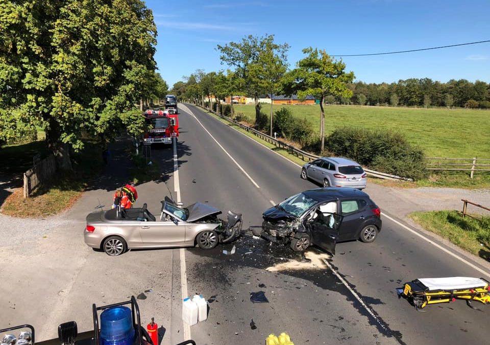 Einsatz Verkehrsunfall – 14:37 Uhr